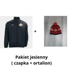 Pakiet jesienny ( czapka zimowa + ortalion)